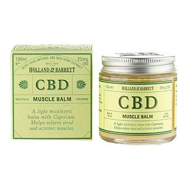 cbd balm for muscle pain