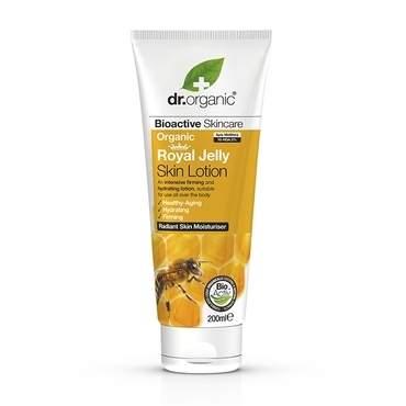 dr organic royal jelly skin lotion